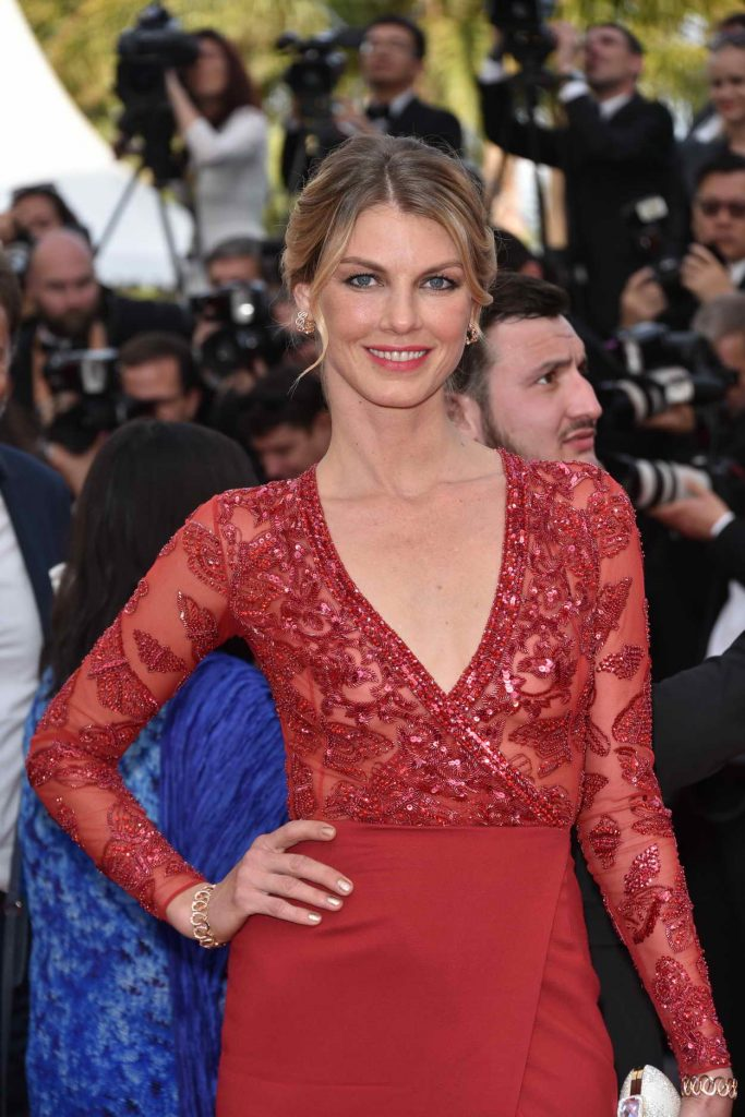 Angela Lindvall at The Loving Premiere During 69th Cannes Film Festival in Cannes 05/16/2016-1