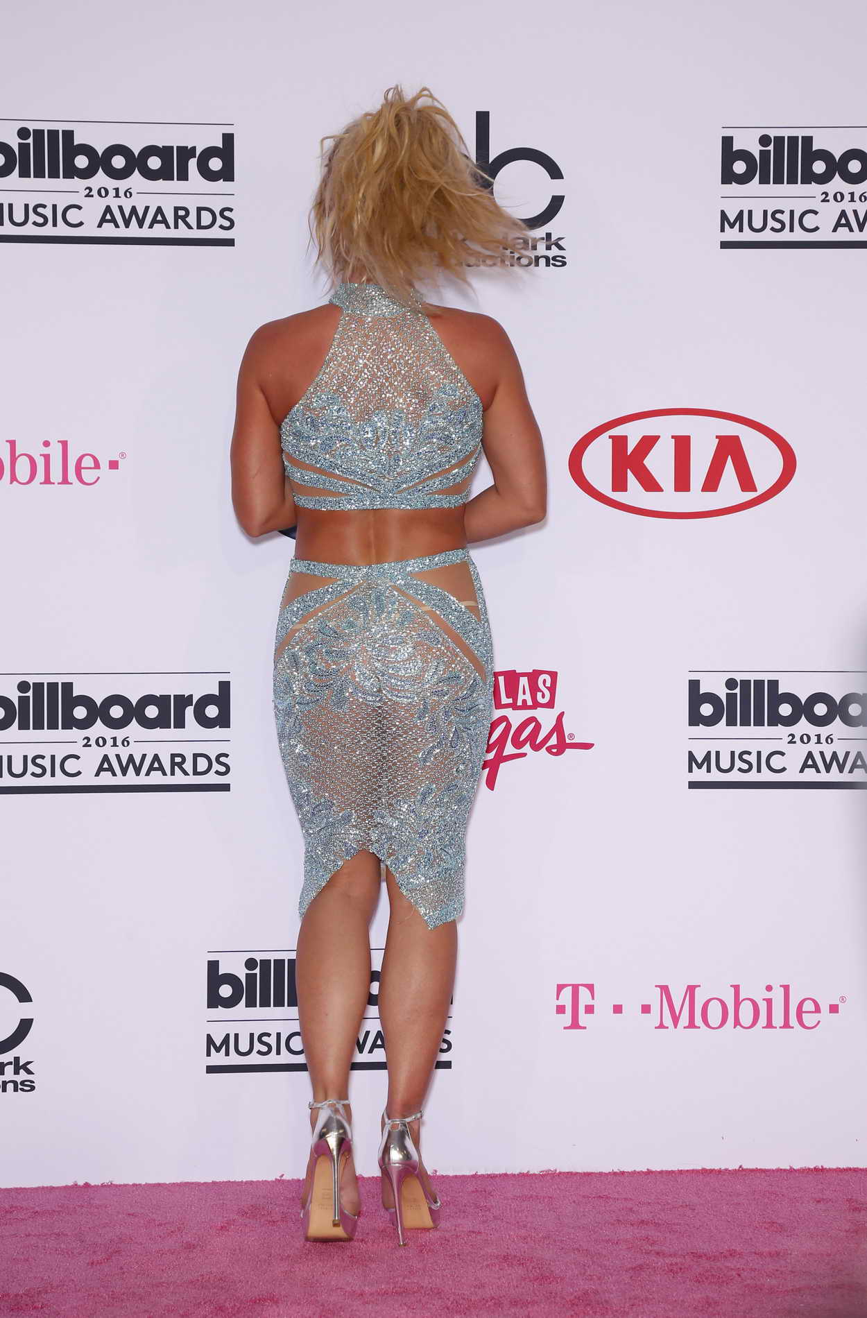 Britney Spears at the 2016 Billboard Music Awards at T ...