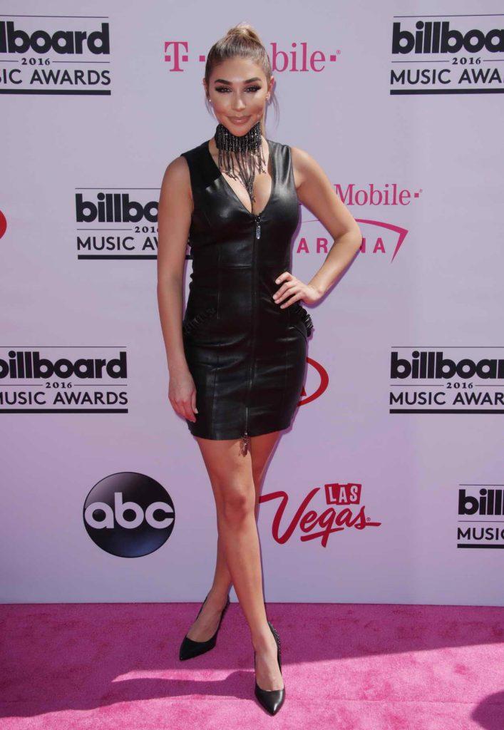 Chantel Jeffries at the 2016 Billboard Music Awards at T-Mobile Arena in Las Vegas 05/22/2016-1