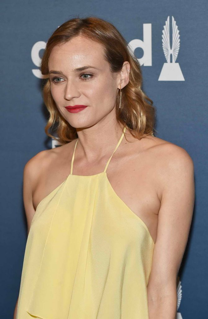 Diane Kruger at 27th Annual GLAAD Media Awards in NYC 05/14/2016-1