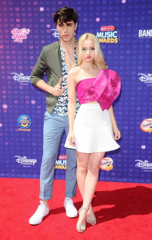 Dove Cameron at the 2016 Radio Disney Music Awards at the Microsoft Theater in Los Angeles 04/30/2016-3