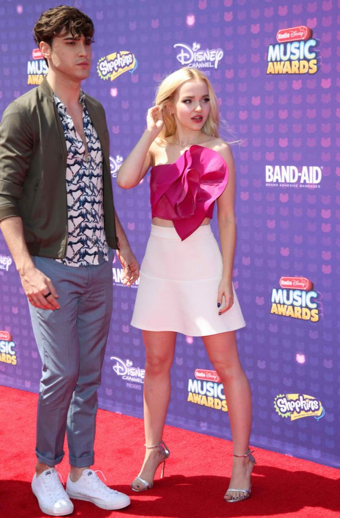 Dove Cameron at the 2016 Radio Disney Music Awards at the Microsoft Theater in Los Angeles 04/30/2016-5