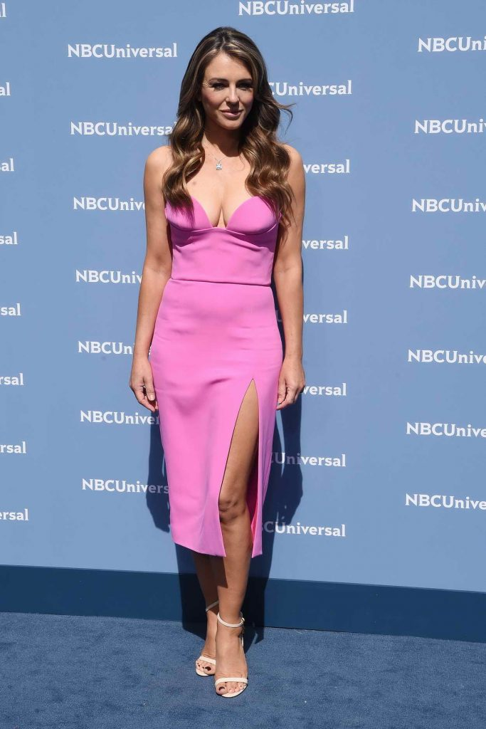Elizabeth Hurley at the NBCUniversal 2016 Upfront Presentation in New York 05/16/2016-1