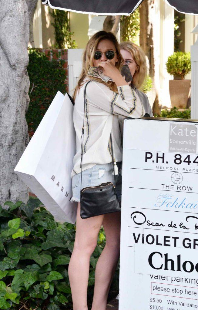 Elizabeth Olsen Shops in West Hollywood 05/13/2016-4