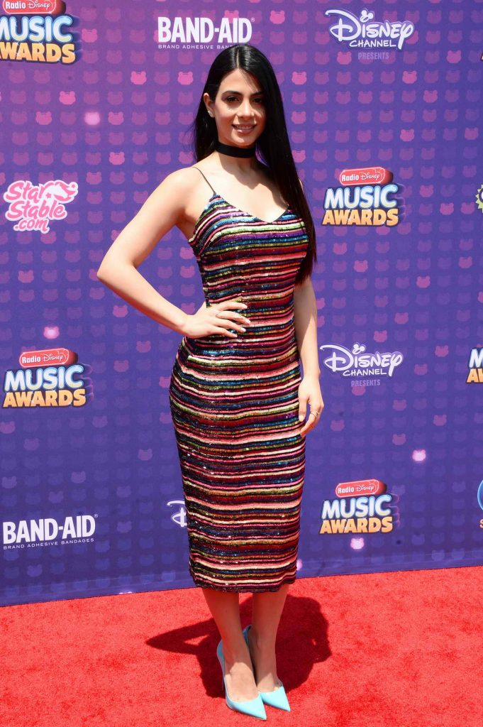 Emeraude Toubia at the 2016 Radio Disney Music Awards at the Microsoft Theater in Los Angeles 04/30/2016-2