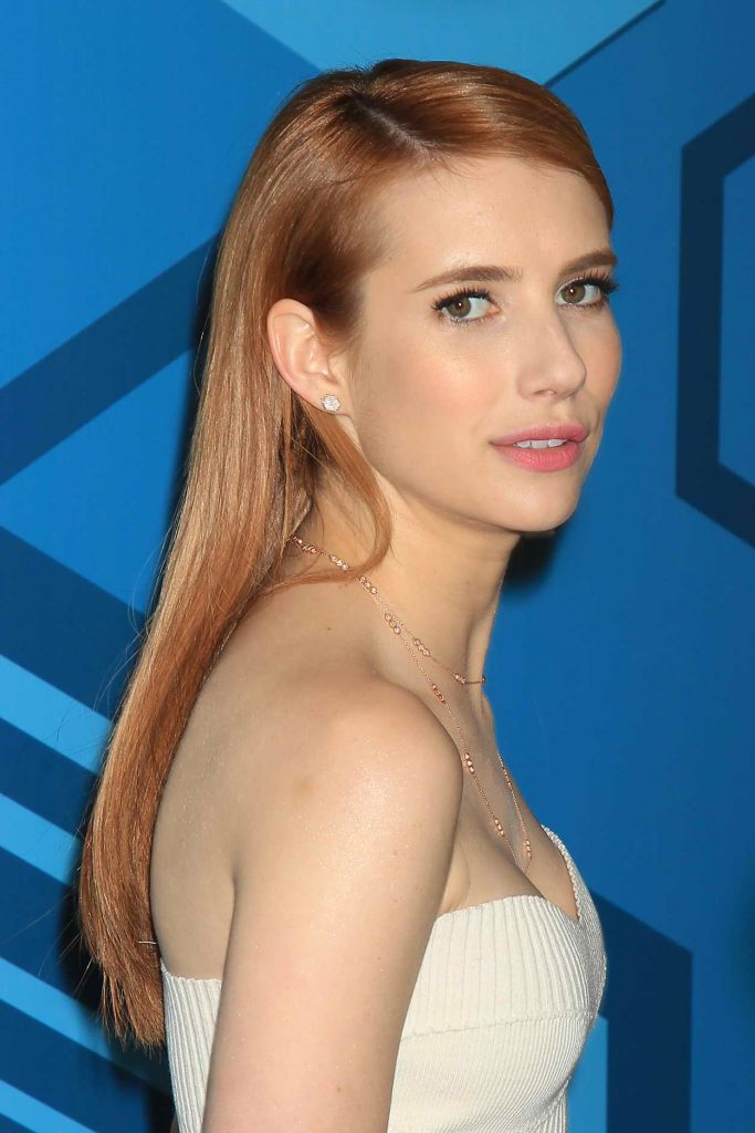 Emma Roberts at the Fox Network 2016 Upfront Presentation in New York 05/16/2016-1