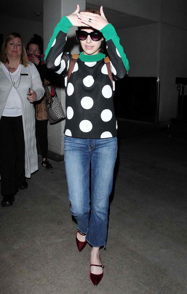 Emma Roberts Leaves LAX in LA 05/03/2016-4