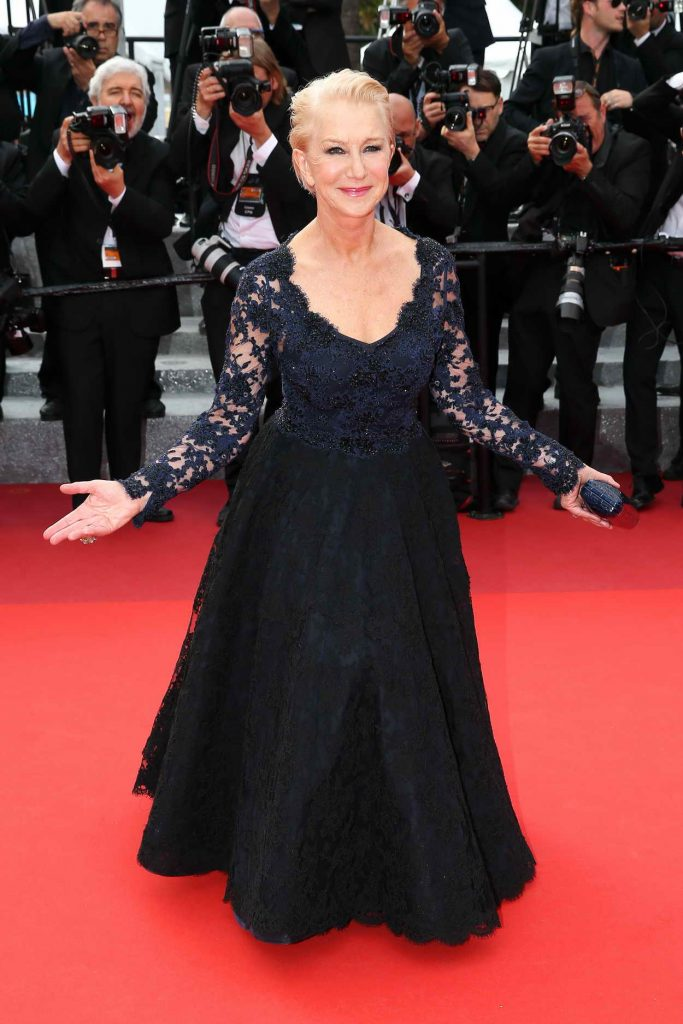 Helen Mirren at The Unknown Girl Premiere During the 69th Cannes Film Festival 05/18/2016-1