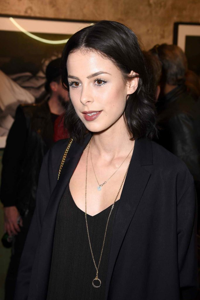 Lena Meyer-Landrut at the Love Don't Break Me Photo Art Exhibition in Berlin 05/04/2016-1