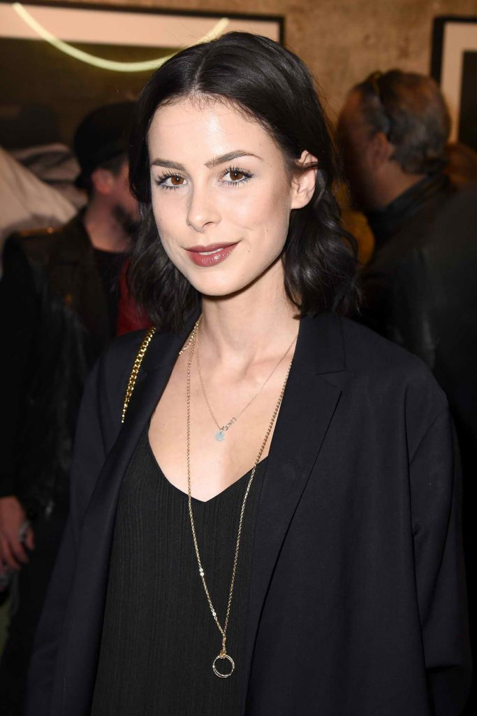 Lena Meyer-Landrut at the Love Don't Break Me Photo Art Exhibition in Berlin 05/04/2016-2