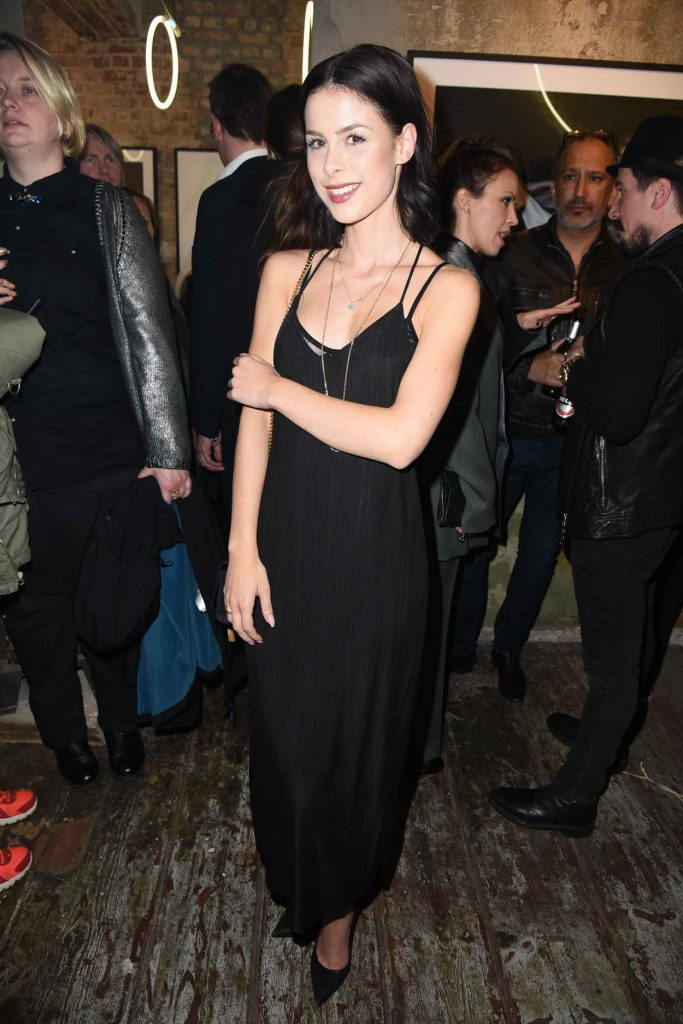 Lena Meyer-Landrut at the Love Don't Break Me Photo Art Exhibition in Berlin 05/04/2016-4