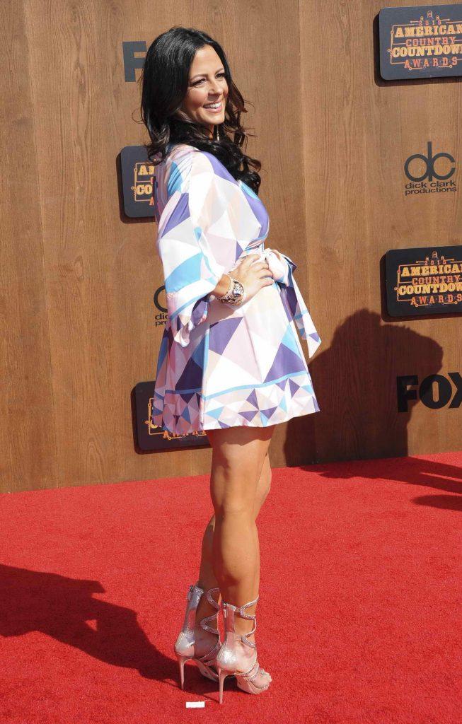 Sara Evans at the 2016 American Country Countdown Awards in LA 05/02/2016-2