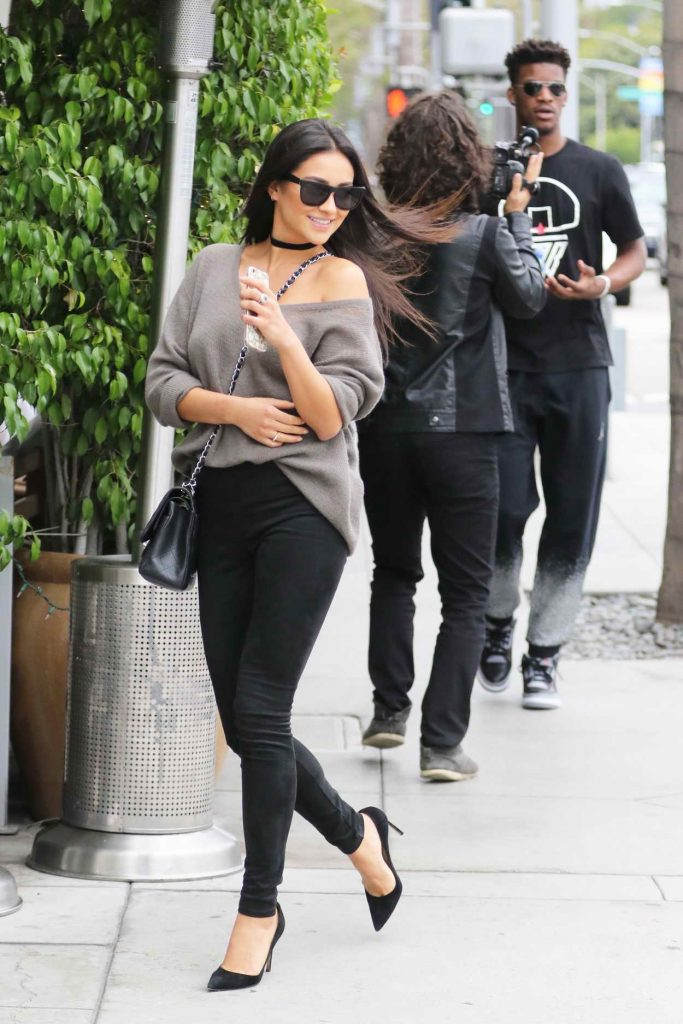 Shay Mitchell and Jimmy Butler Out in Beverly Hills 05/07/2016-1