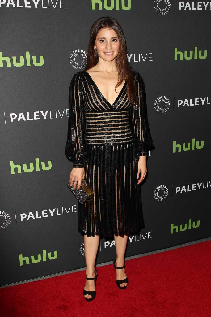 Shiri Appleby Attends the Paley Center in New York for Media Presents PaleyLive: UnREAL 05/23/2016-1