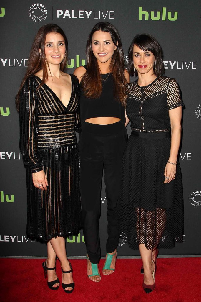 Shiri Appleby Attends the Paley Center in New York for Media Presents PaleyLive: UnREAL 05/23/2016-4