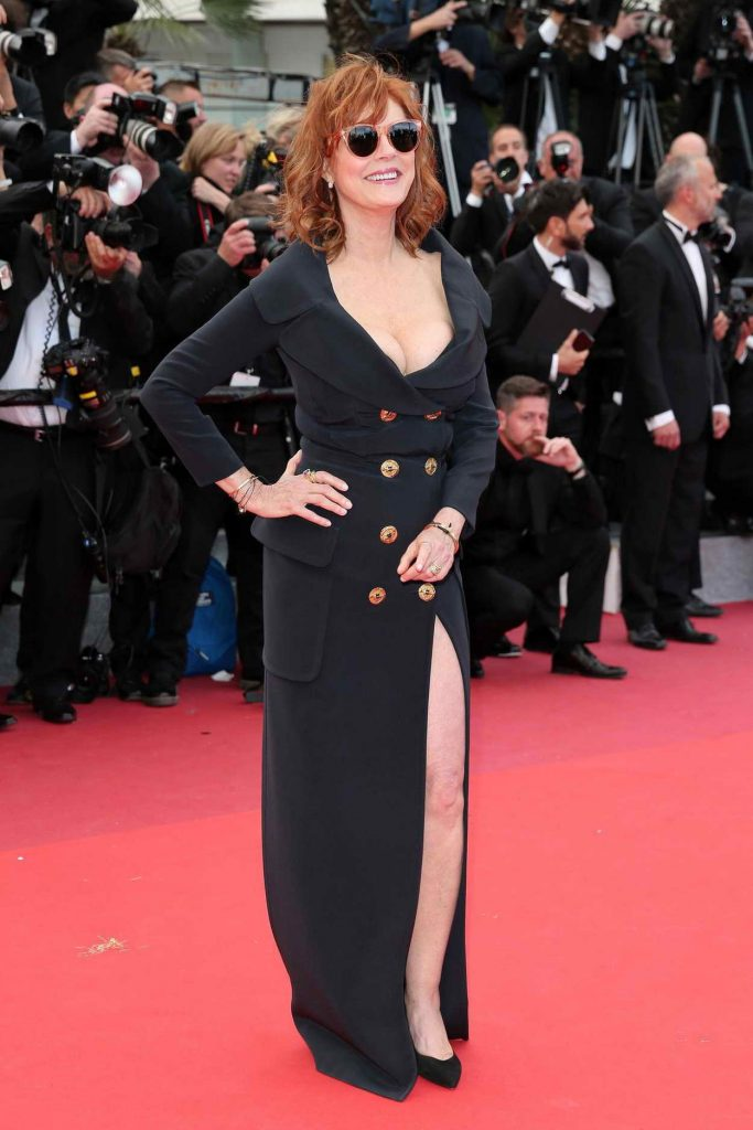Susan Sarandon at the Money Monster Premiere at the 69th Annual Cannes Film Festival in Cannes 05/12/2016-1