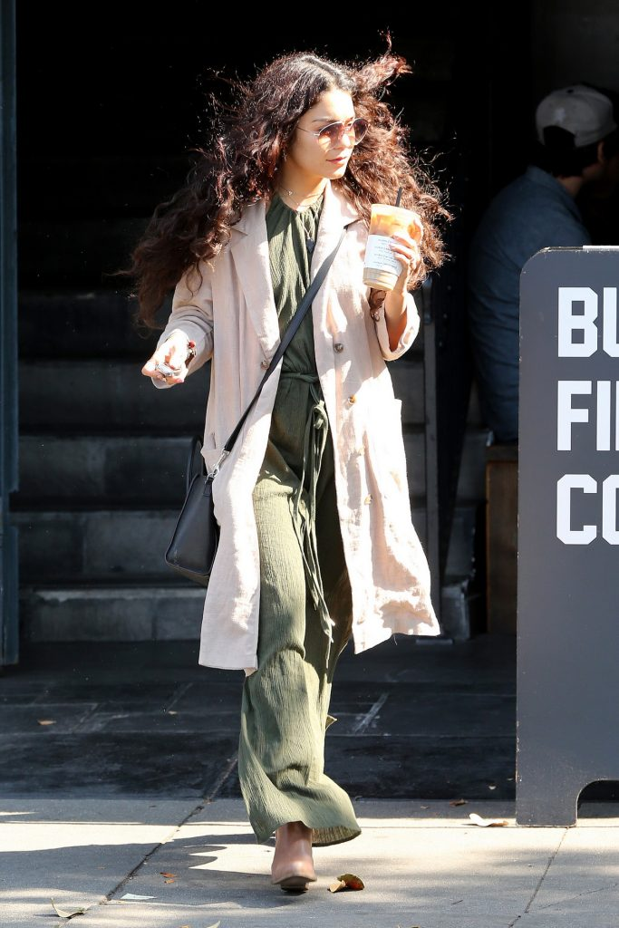 Vanessa Hudgens at Alfred's Coffee in West Hollywood 05/09/2016-1