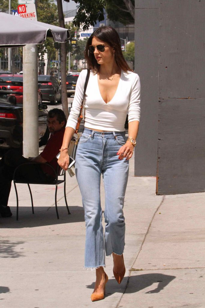 Alessandra Ambrosio Out in West Hollywood 06/03/2016-1
