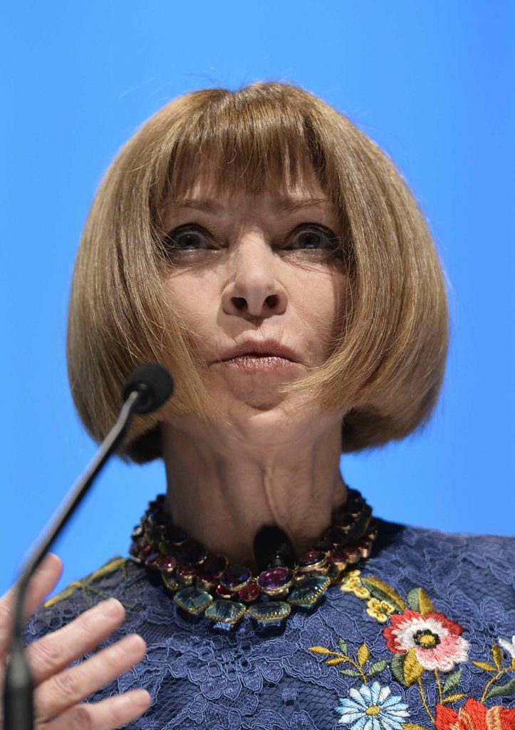 Anna Wintour at Cannes Lion Festival of Creativity 06/21 ...