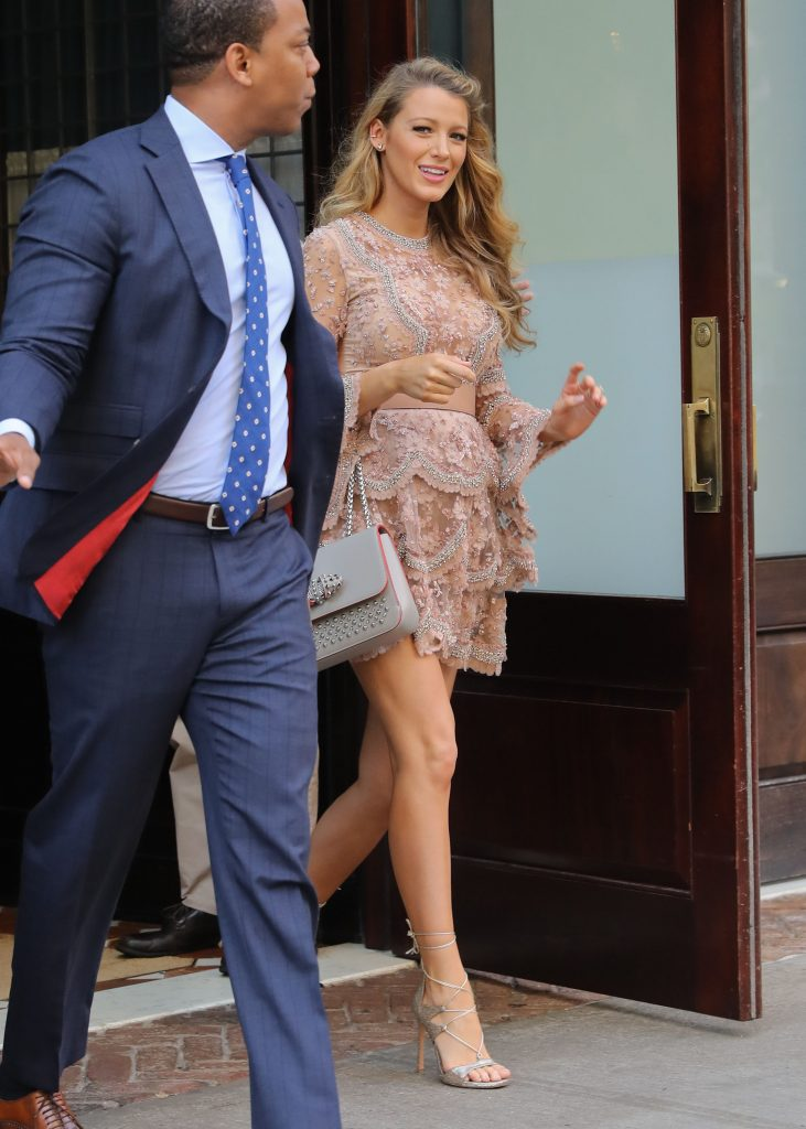 Blake Lively Leaves Her Hotel in New York City 06/20/2016-1