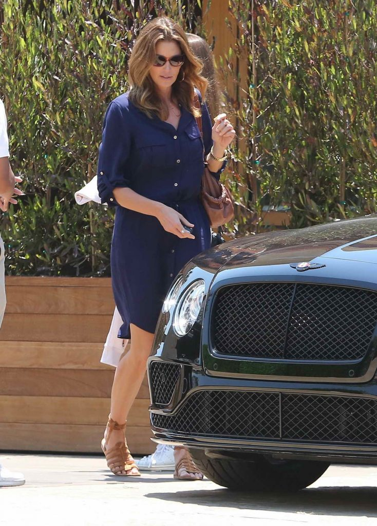 Cindy Crawford Leaves Soho House Restaurant in Malibu 06/17/2016-1