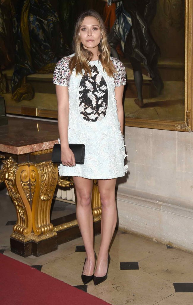 Elizabeth Olsen Attends Launch of Dior Cruise Collection 2017 at Blenheim Palace in Oxfordshire 05/31/2016-2