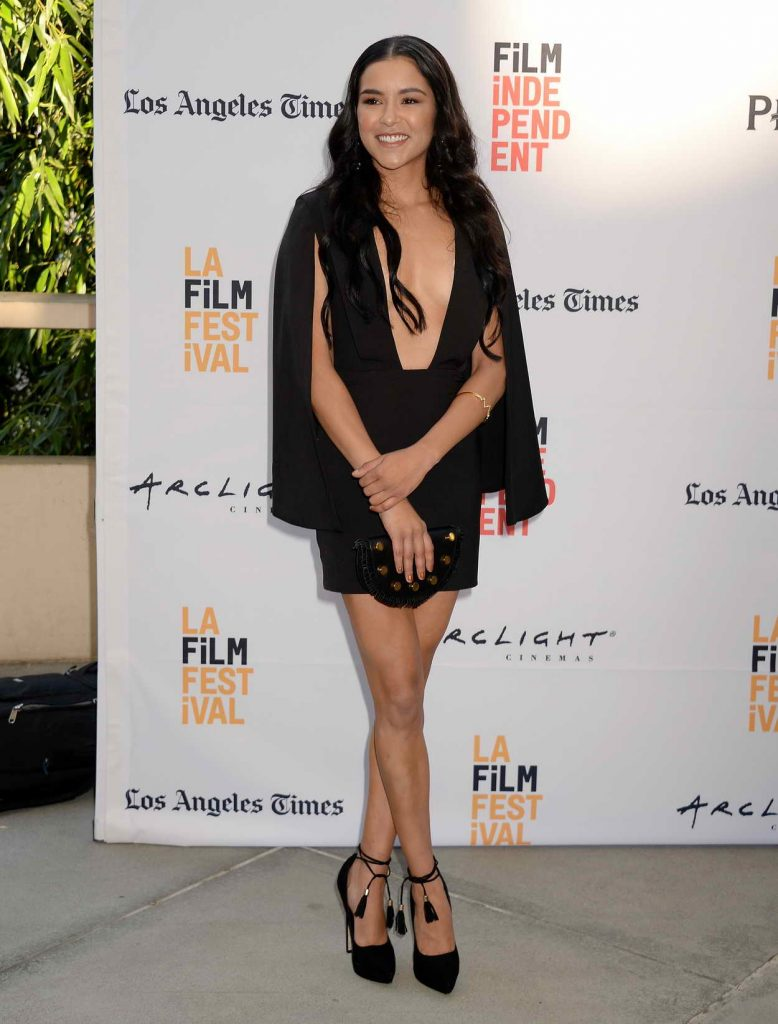 Emily Rios at the Paint It Black Premiere During Los Angeles Film Festival 06/03/2016-1