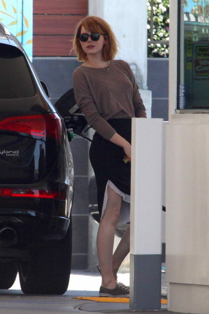 Emma Stone Was Spotted Out in Malibu 06/20/2016-1