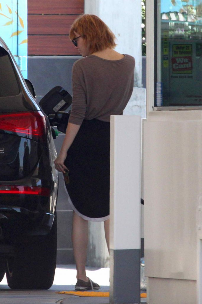 Emma Stone Was Spotted Out in Malibu 06/20/2016-3