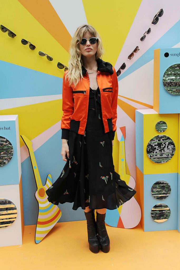 Georgia May Jagger Does Sunglass Hut Photocall in New York City 06/16/2016-1
