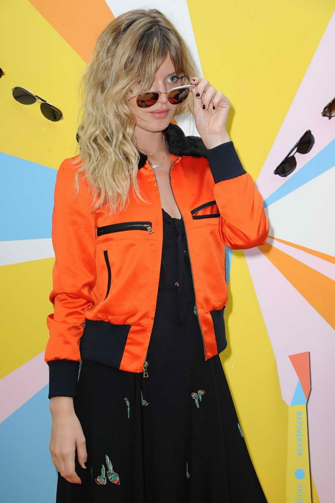 Georgia May Jagger Does Sunglass Hut Photocall in New York City 06/16/2016-5