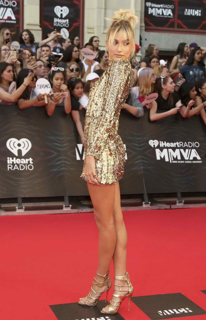 Hailey Baldwin at MuchMusic Video Awards in Toronto 06/19/2016-1