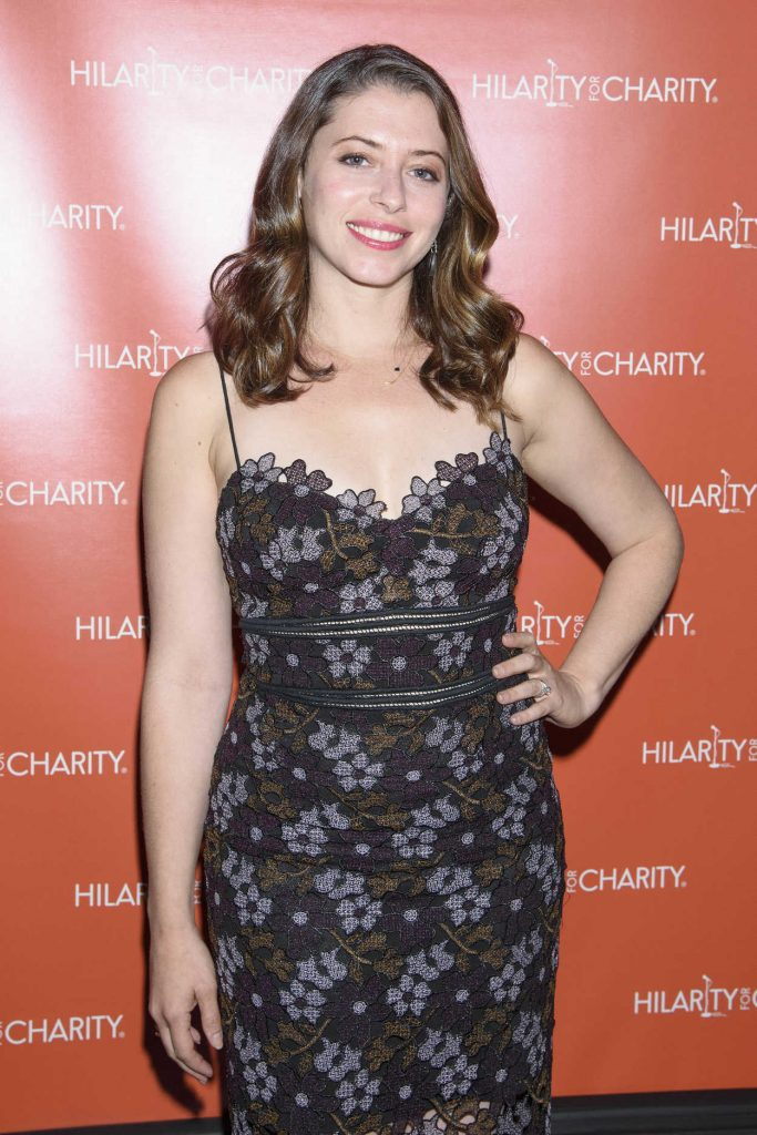 Lauren Miller at Hilarity for Charity at Highline Ballroom in New York City 06/29/2016-2