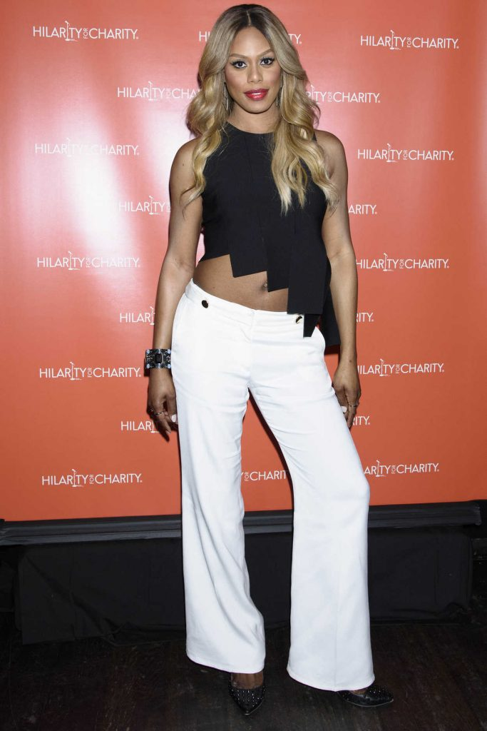 Laverne Cox at Hilarity for Charity at Highline Ballroom in New York City 06/29/2016-1