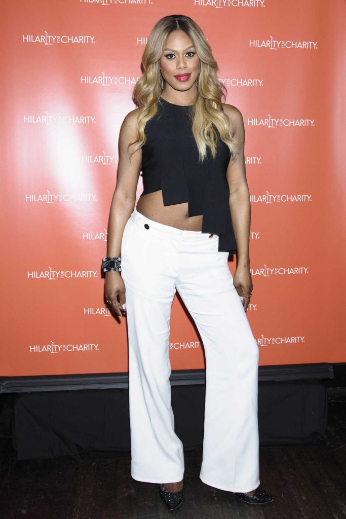 Laverne Cox at Hilarity for Charity at Highline Ballroom in New York City 06/29/2016-3