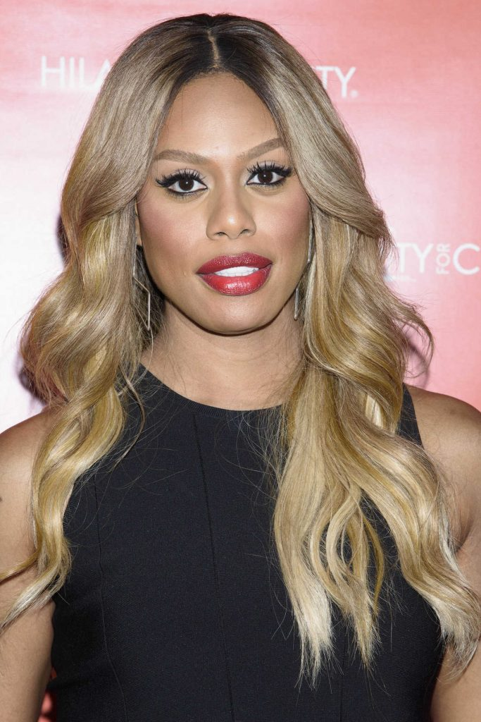 Laverne Cox at Hilarity for Charity at Highline Ballroom in New York City 06/29/2016-4