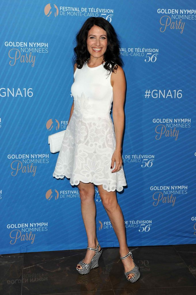 Lisa Edelstein at the Golden Nymph Nominee Party During Monte Carlo Television Festival 06/15/2016-1