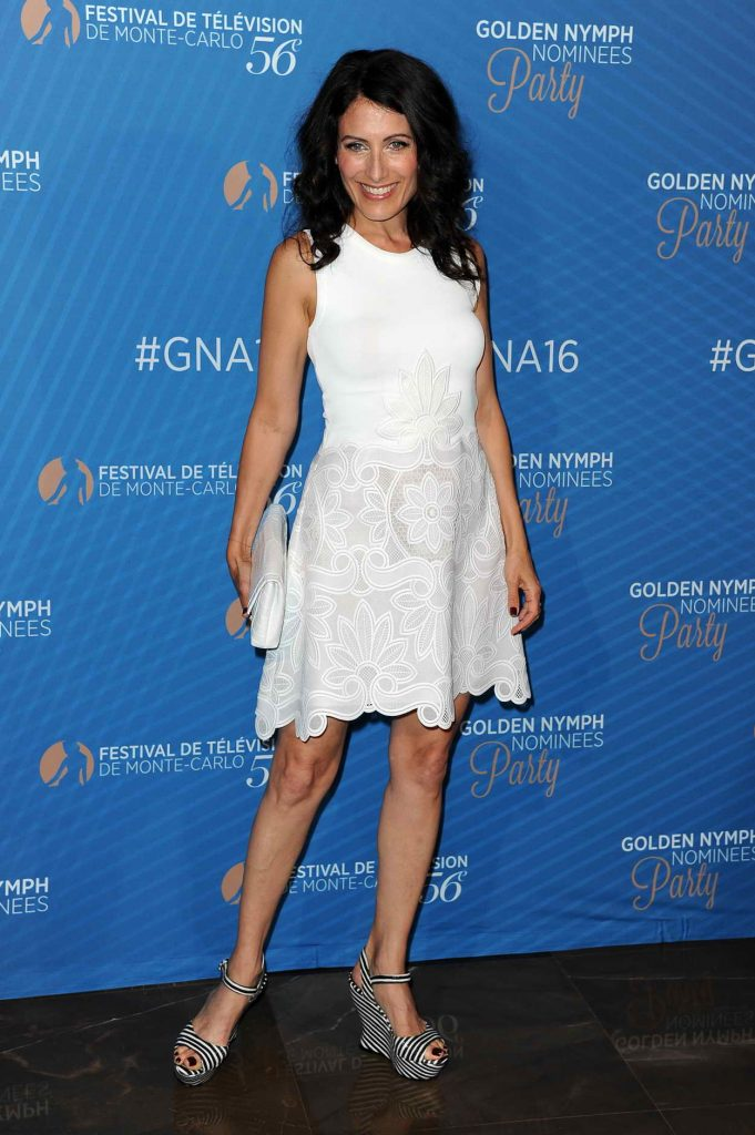 Lisa Edelstein at the Golden Nymph Nominee Party During Monte Carlo Television Festival 06/15/2016-3