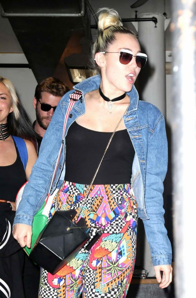 Miley Cyrus Was Spotted Out in New York 06/14/2016-1