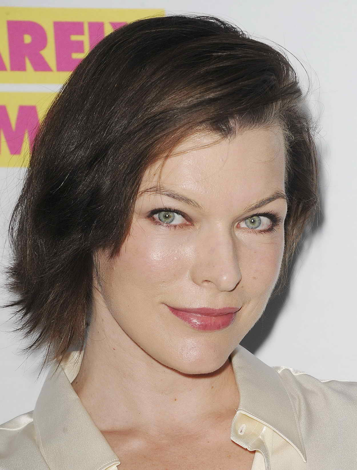 Milla Jovovich at the Barely Famous Season 2 Party in West ... Milla Jovovich