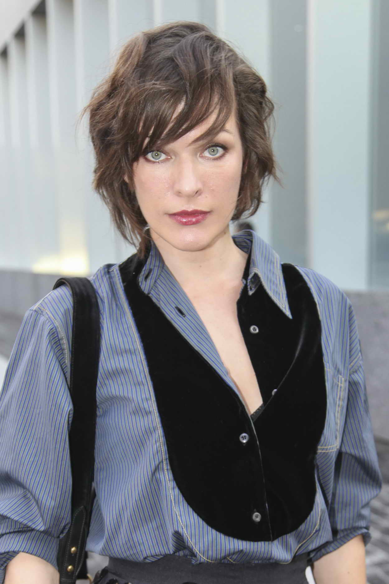 Milla Jovovich Was Seen at the Prada Dinner and ... Milla Jovovich