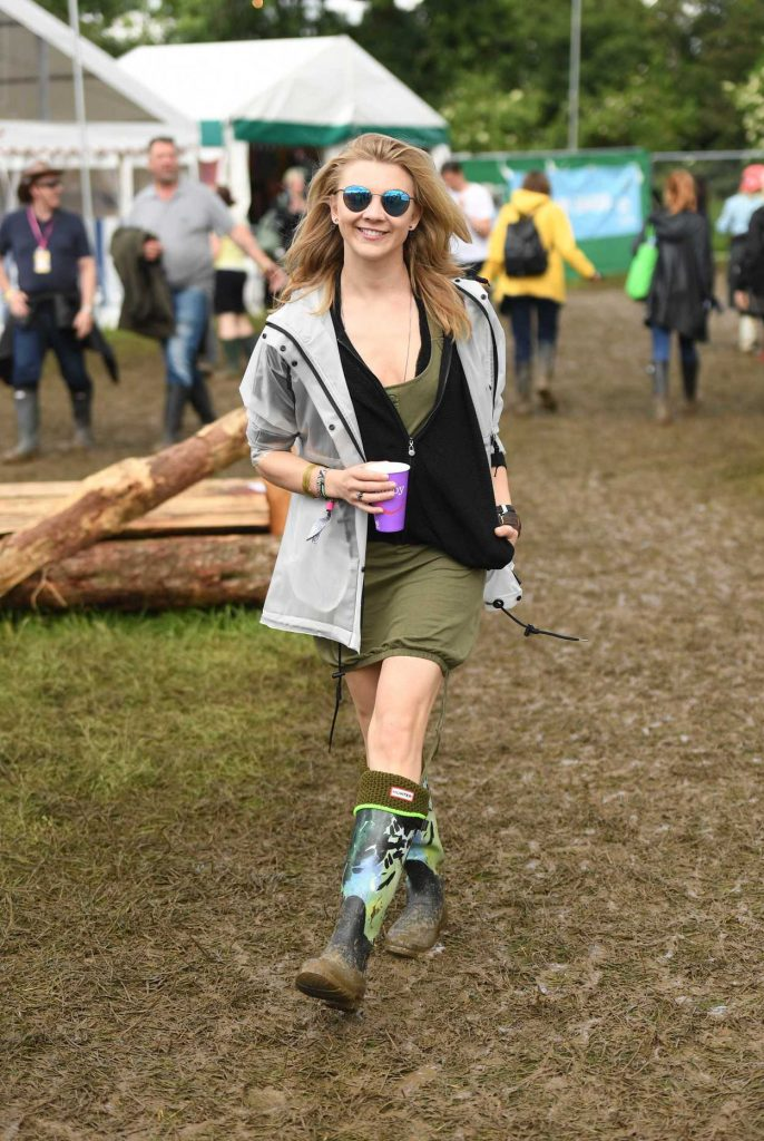 Natalie Dormer Visits the 2016 Glastonbury Festival in England 06/24/2016-2