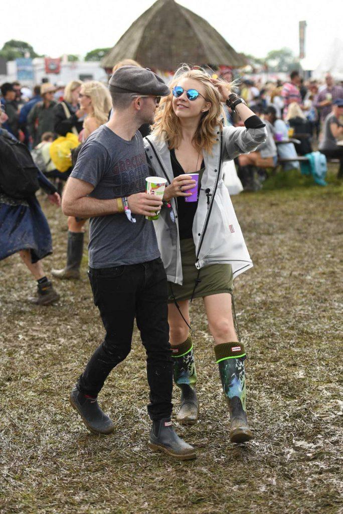Natalie Dormer Visits the 2016 Glastonbury Festival in England 06/24/2016-3