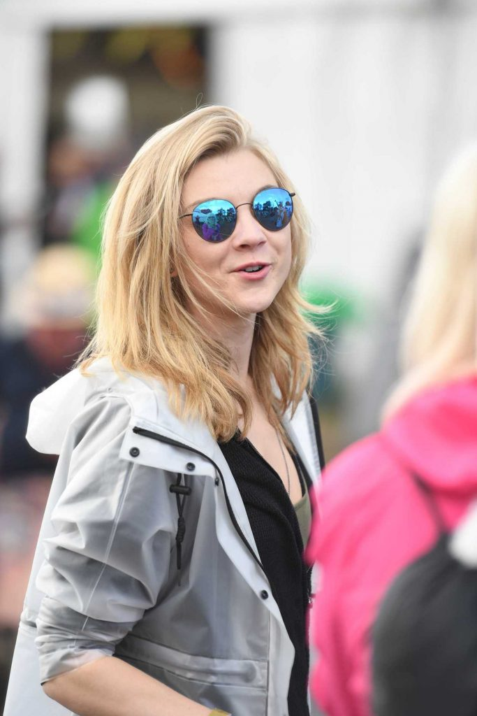Natalie Dormer Visits the 2016 Glastonbury Festival in England 06/24/2016-4
