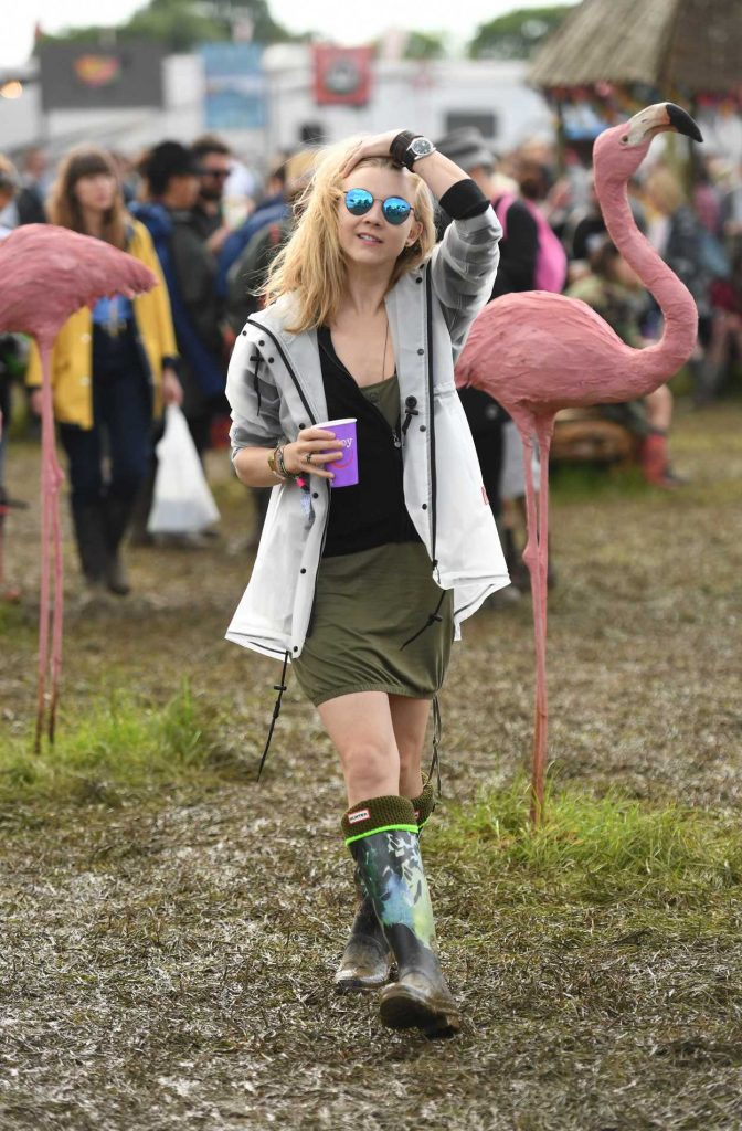 Natalie Dormer Visits the 2016 Glastonbury Festival in England 06/24/2016-5