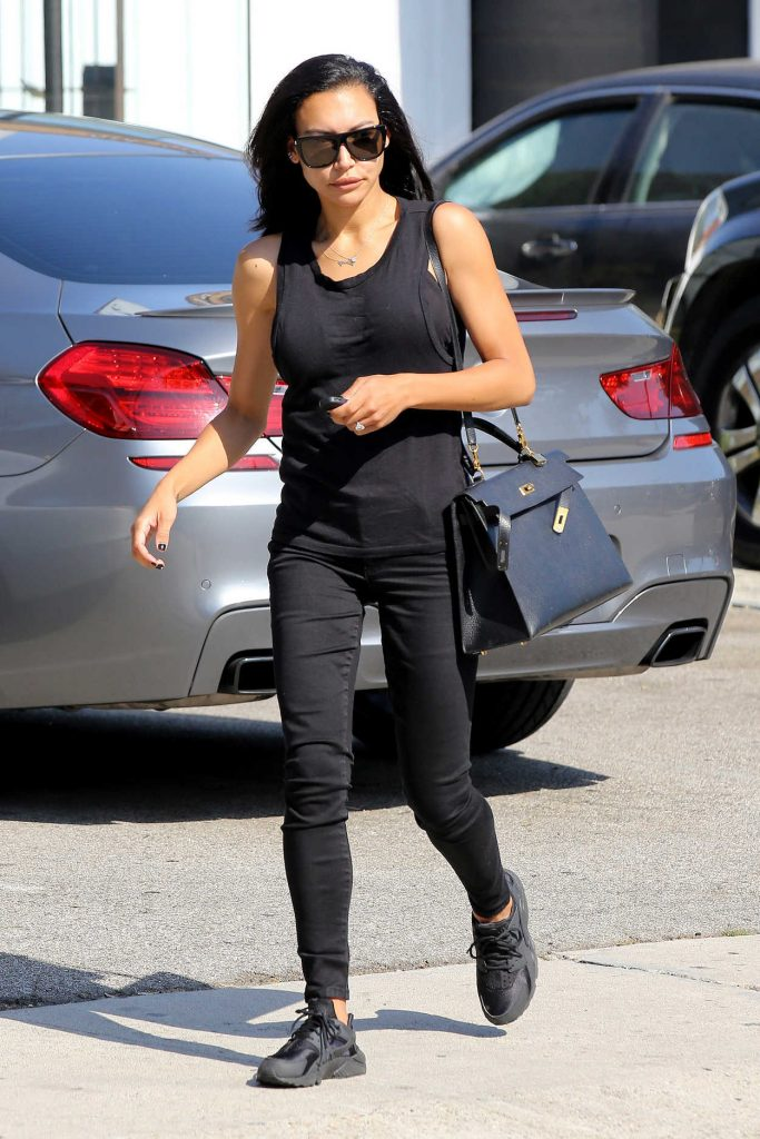 Naya Rivera Leaves the Hair Salon in West Hollywood 06/29/2016-1