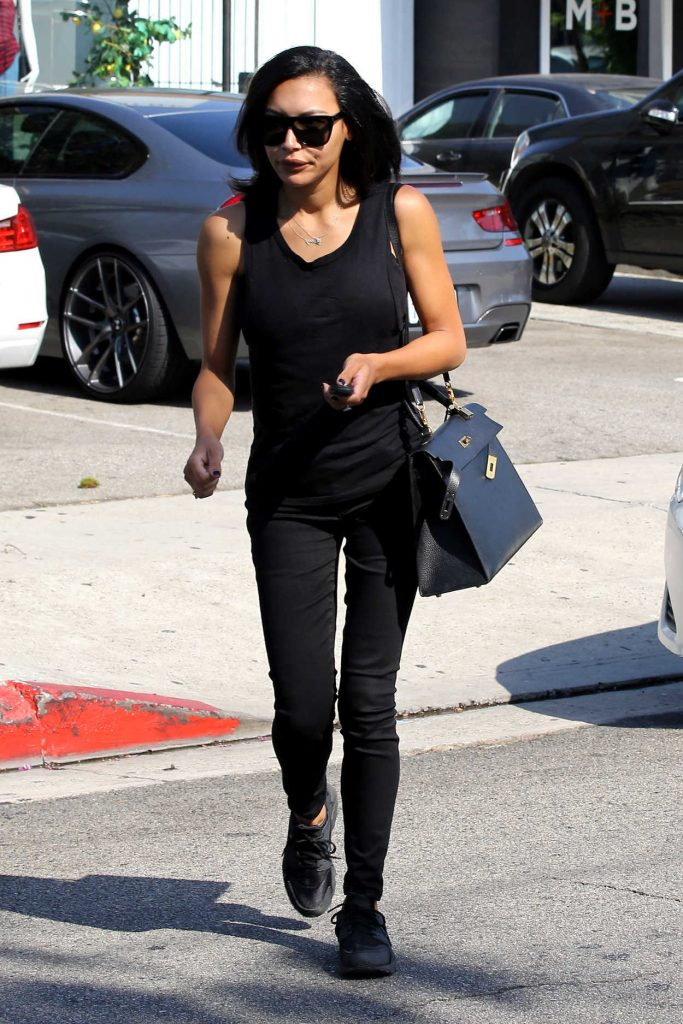 Naya Rivera Leaves the Hair Salon in West Hollywood 06/29/2016-2