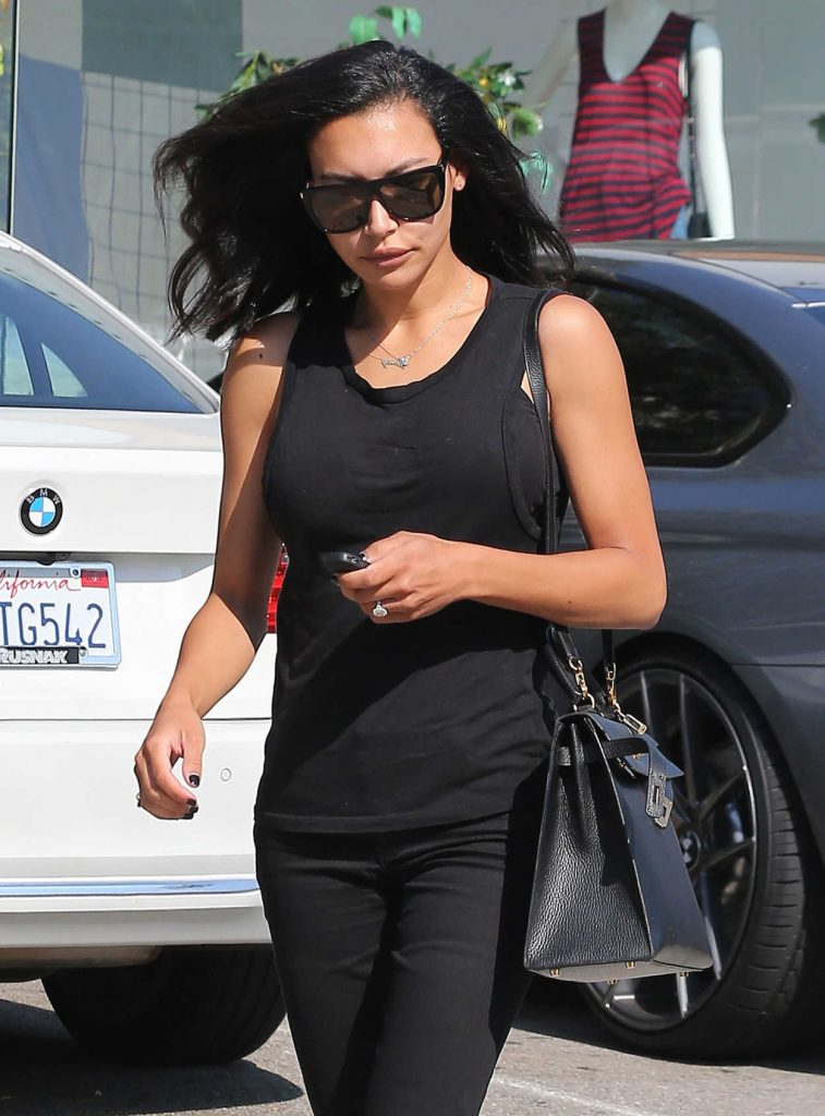 Naya Rivera Leaves the Hair Salon in West Hollywood 06/29/2016-4