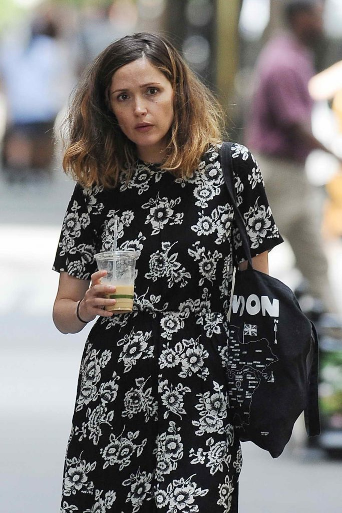 Rose Byrne Out in New York City 06/01/2016-1