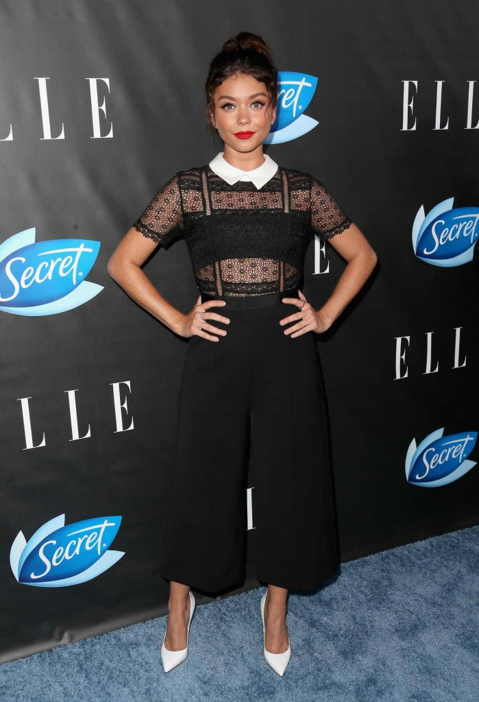 Sarah Hyland at the ELLE Hosts Women in Comedy Event in West Hollywood 06/07/2016-1